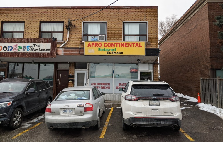 Afro Continental Restaurant